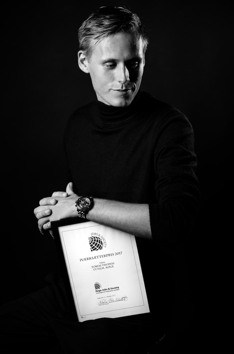 Årets Iværksætter Tobias Thomas